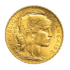 Napoléon 20F avers