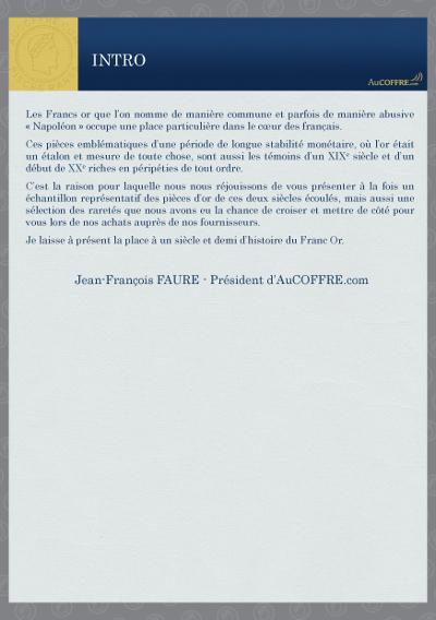 Catalogue des pièces rares - page 2