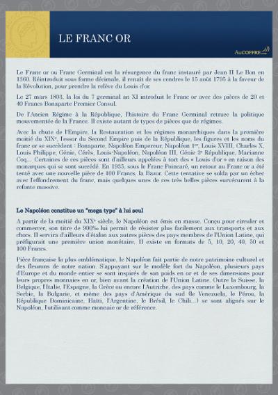 Catalogue des pièces rares - page 3