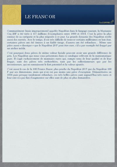 Catalogue des pièces rares - page 4