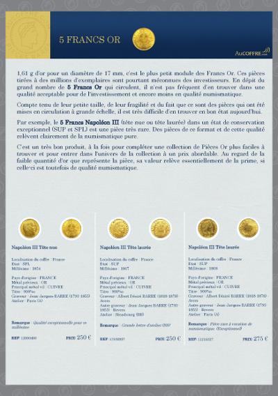 Catalogue des pièces rares - page 5