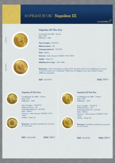 Catalogue des pièces rares - page 7