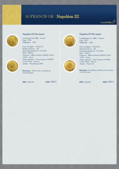Catalogue des pièces rares - page 8