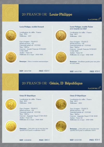 Catalogue des pièces rares - page 13
