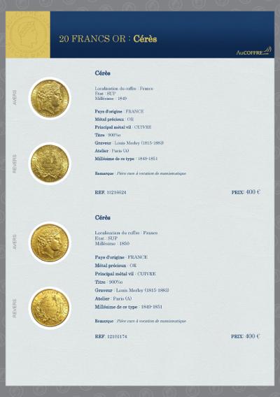 Catalogue des pièces rares - page 14