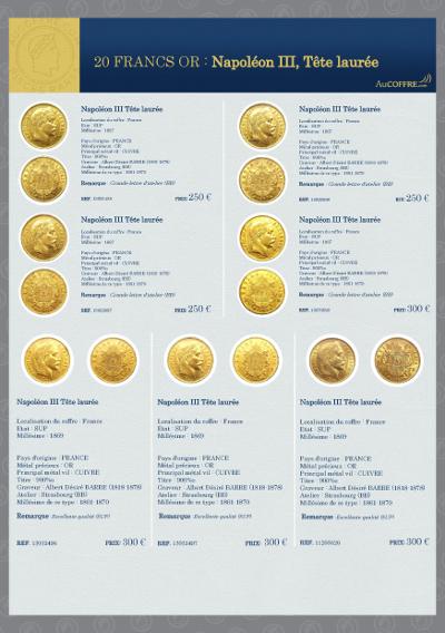 Catalogue des pièces rares - page 19