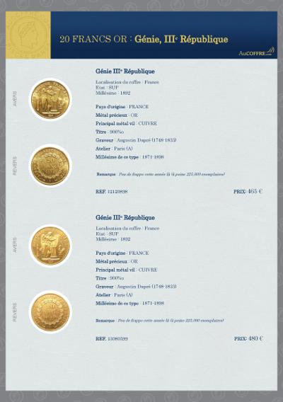 Catalogue des pièces rares - page 20
