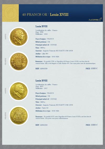 Catalogue des pièces rares - page 22