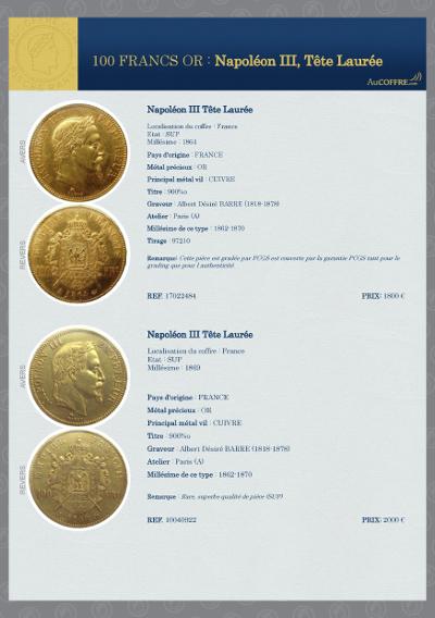 Catalogue des pièces rares - page 27