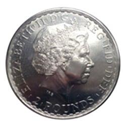 Pièce argent Britannia
