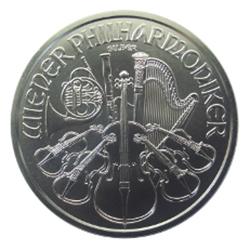 Pièce argent Philharmonique de Vienne