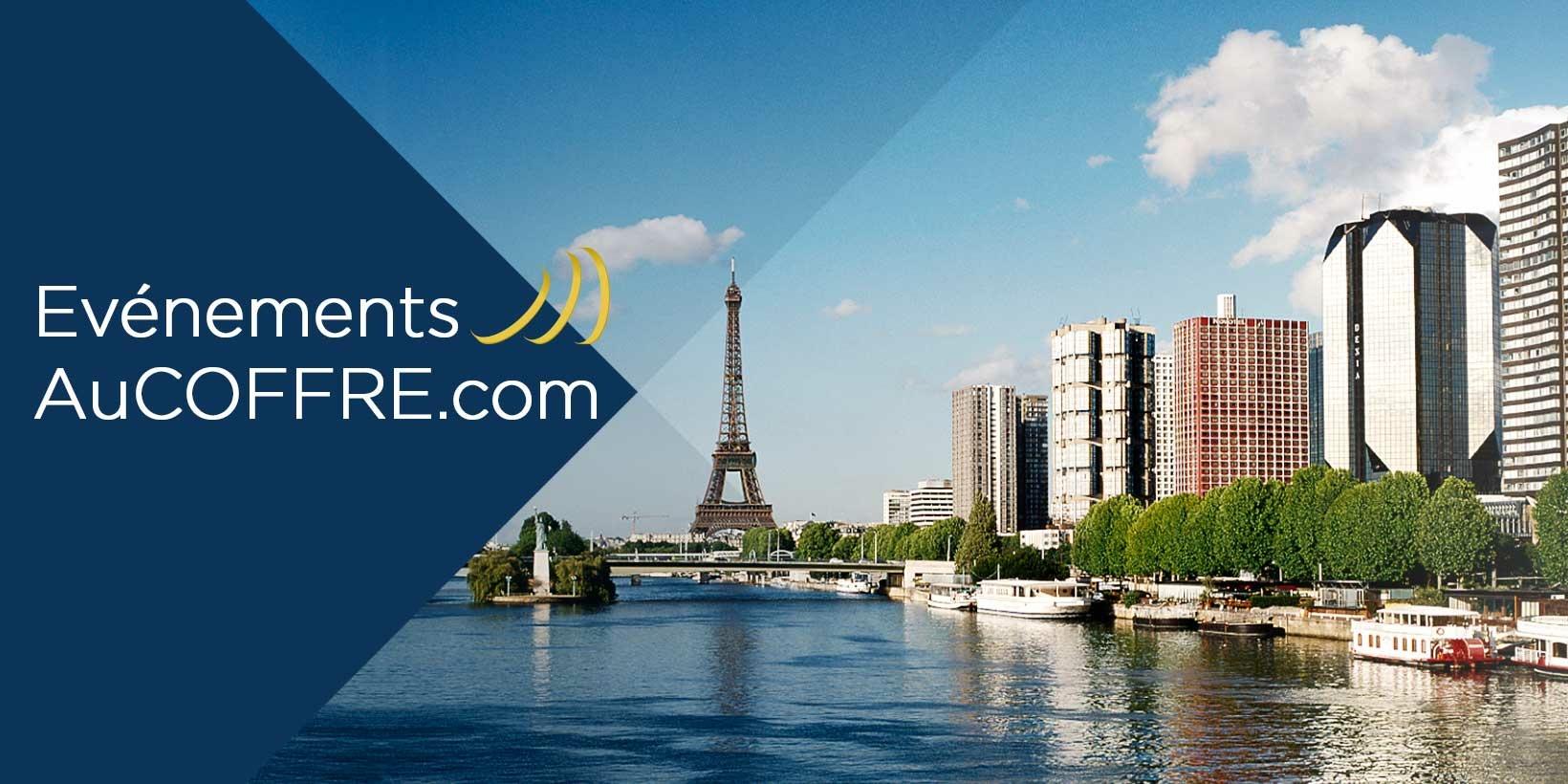Les événements AuCOFFRE sur Paris