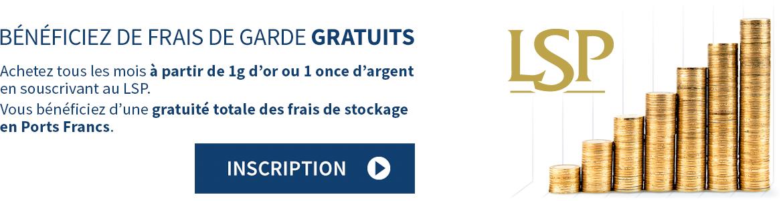 Acheter De L Or Et De L Argent Physique Mensuellement Via Le Lsp