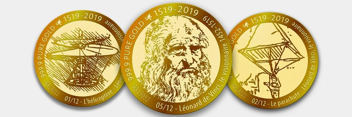 Collection Vera Max Collector 2019 Leonard de Vinci