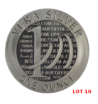 Lot 10 Vera Silver 1 once (LSP)