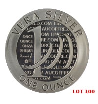Lot 100 Vera Silver 1 once (LSP)