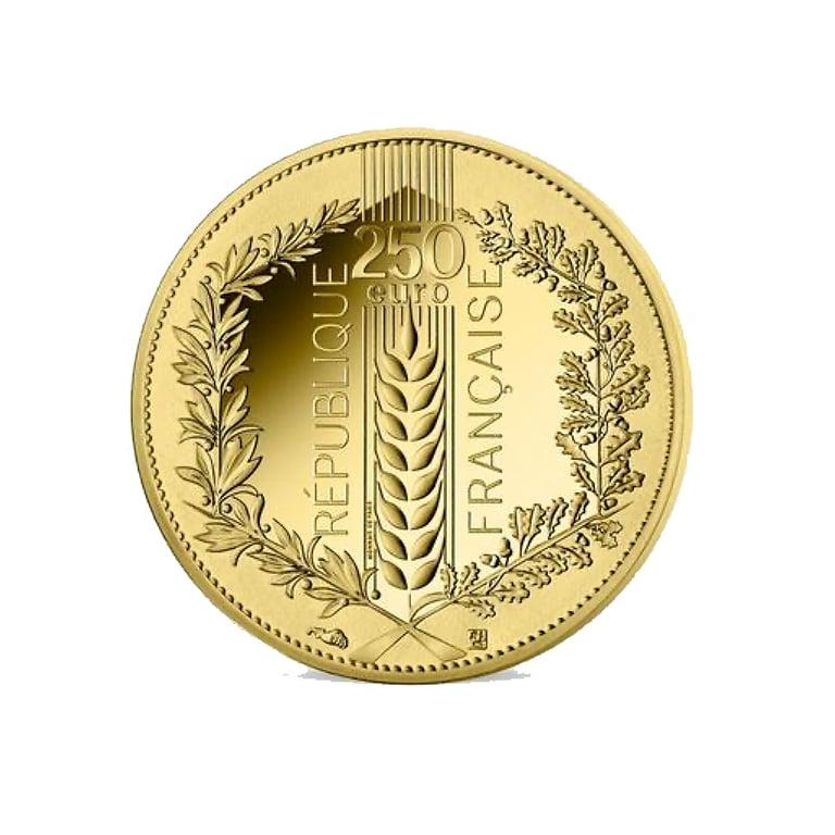 250 Euros Monnaie de Paris - Laurier
