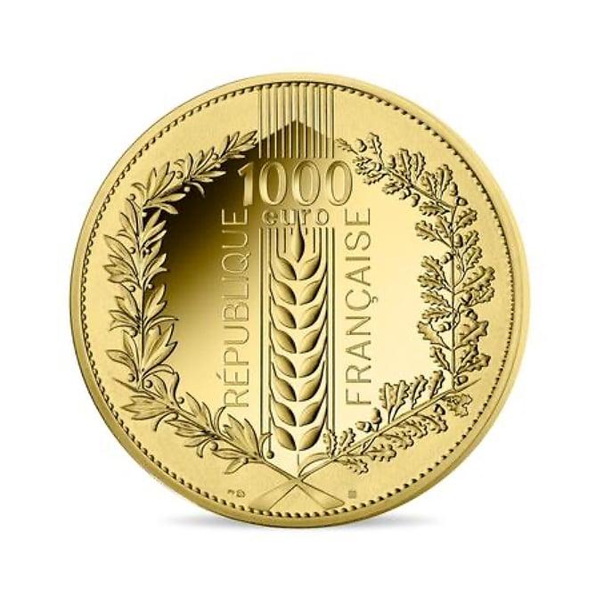 1000 Euros Monnaie de Paris - Laurier