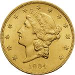 20 Dollars US (Double Eagle)