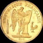 Napoléon 20F Génie IIIème République