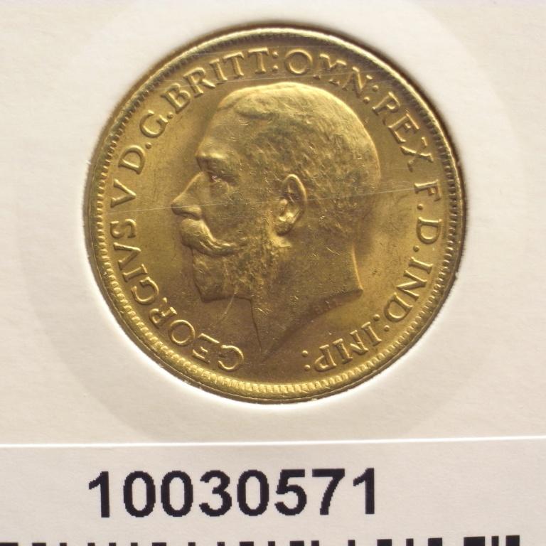 Réf. 10030571 Souverain  George V - AVERS