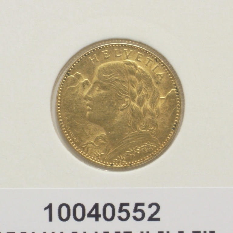 Demi-Vreneli 10 Francs