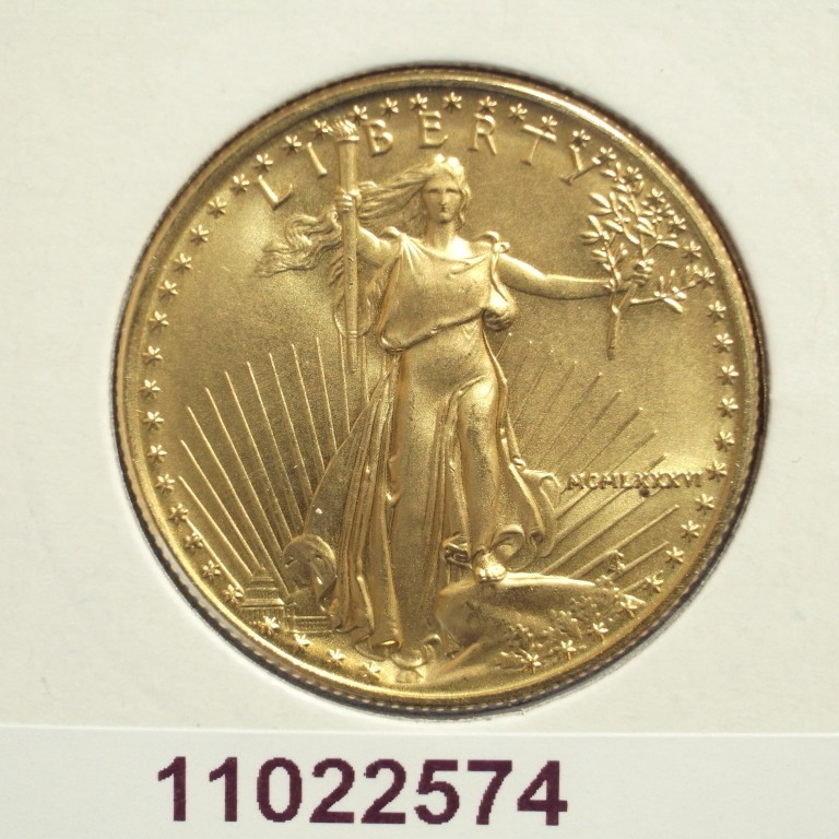 Réf. 11022574 Eagle 1/2 once 25 Dollars US - AVERS