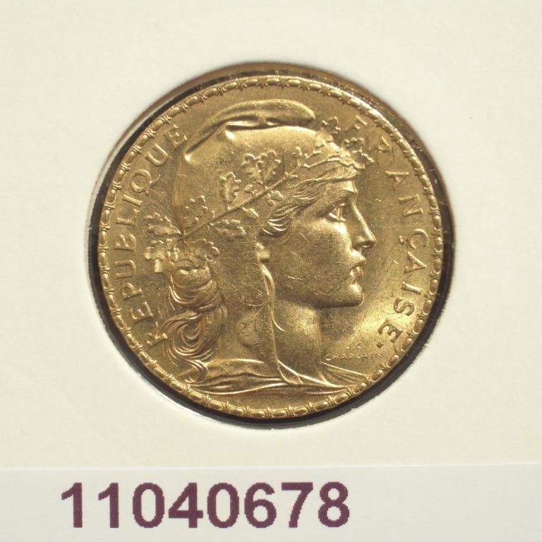 Réf. 11040678 Napoléon 20 Francs Marianne Coq - Liberté Egalité Fraternité - AVERS