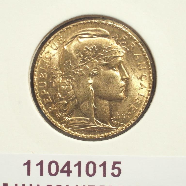 Réf. 11041015 Napoléon 20 Francs Marianne Coq - Liberté Egalité Fraternité - AVERS