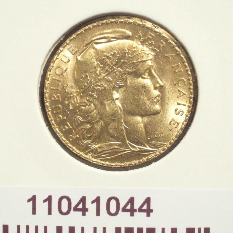 Réf. 11041044 Napoléon 20 Francs Marianne Coq - Liberté Egalité Fraternité - AVERS