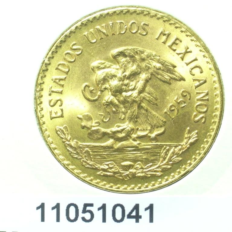 Réf. 11051041 20 Pesos Mexicain  - AVERS