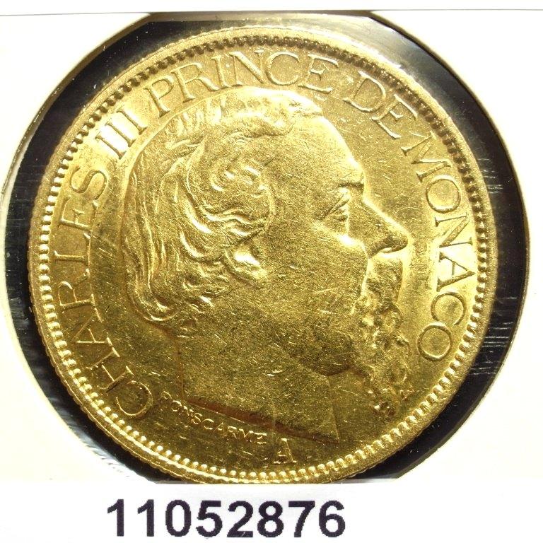 Réf. 11052876 Prince de Monaco 100 Francs Charles III - AVERS