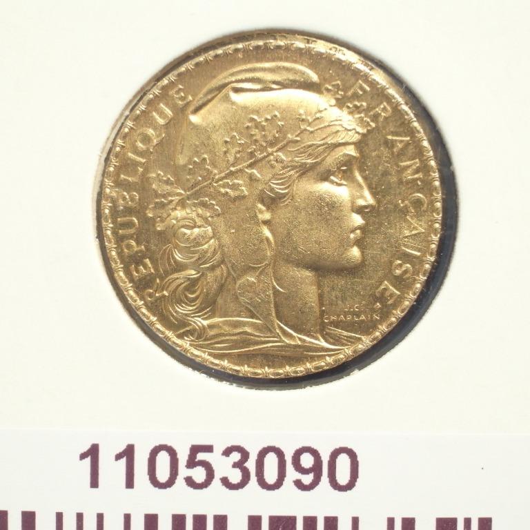 Réf. 11053090 Napoléon 20 Francs Marianne Coq - Liberté Egalité Fraternité - AVERS