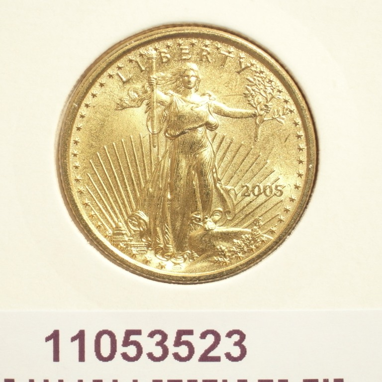 Réf. 11053523 Eagle 1/4 once 10 Dollars US - AVERS