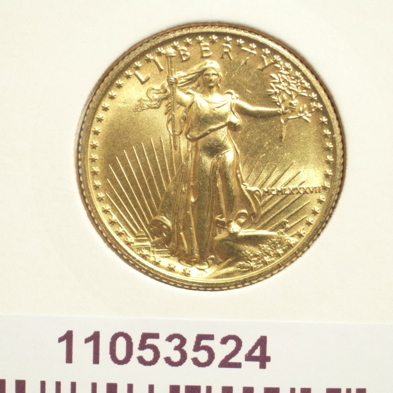 Réf. 11053524 Eagle 1/4 once 10 Dollars US - AVERS