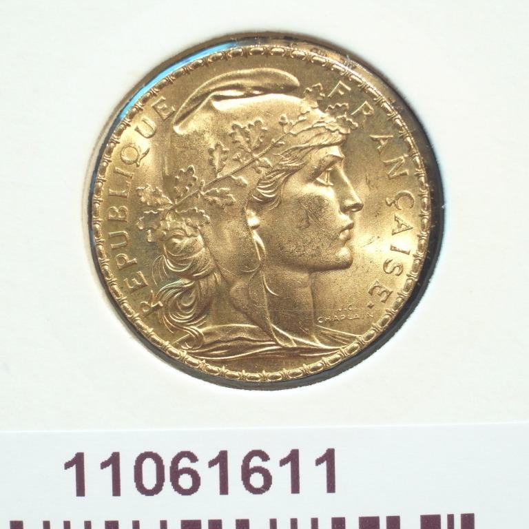 Réf. 11061611 Napoléon 20 Francs Marianne Coq - Liberté Egalité Fraternité - AVERS