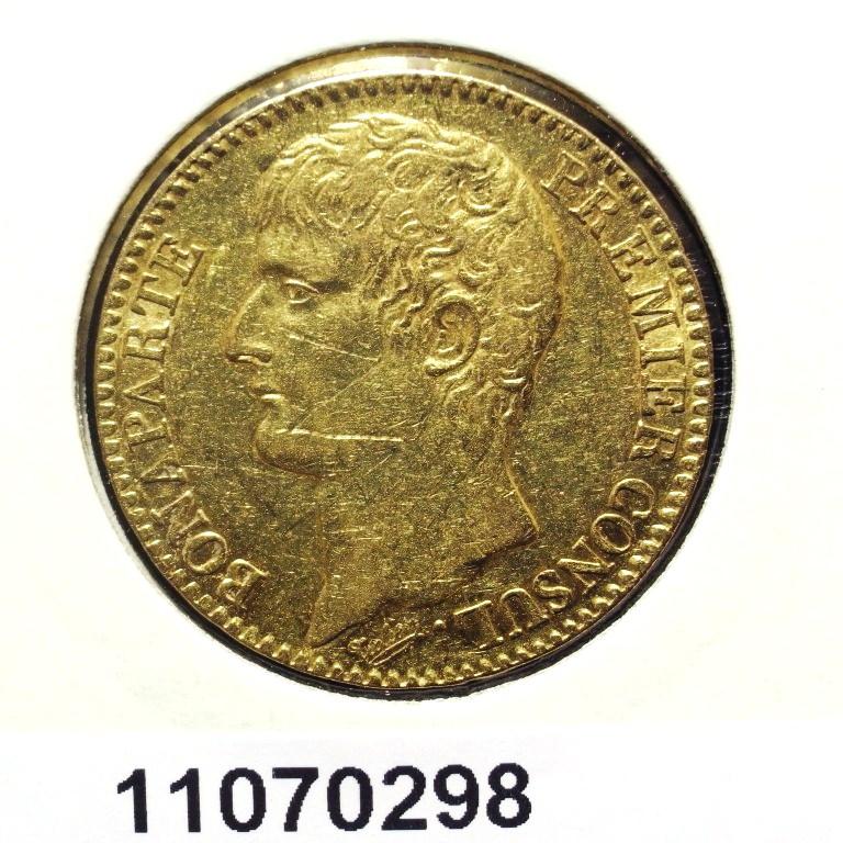 Réf. 11070298 Napoléon 40F  Bonaparte Premier Consul - AVERS