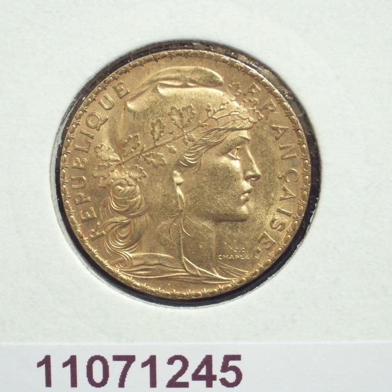 Réf. 11071245 Napoléon 20 Francs Marianne Coq - Liberté Egalité Fraternité - AVERS