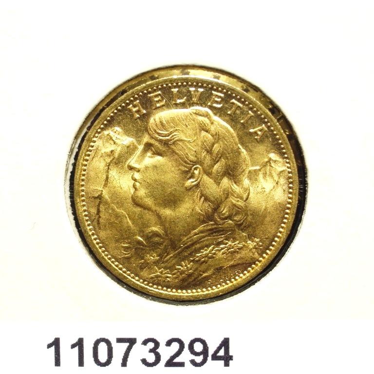 Réf. 11073294 20 Francs Suisse  Vreneli - AVERS