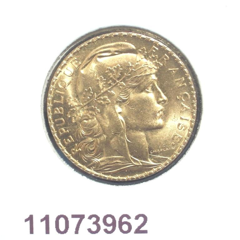Réf. 11073962 Napoléon 20 Francs Marianne Coq - Liberté Egalité Fraternité - AVERS