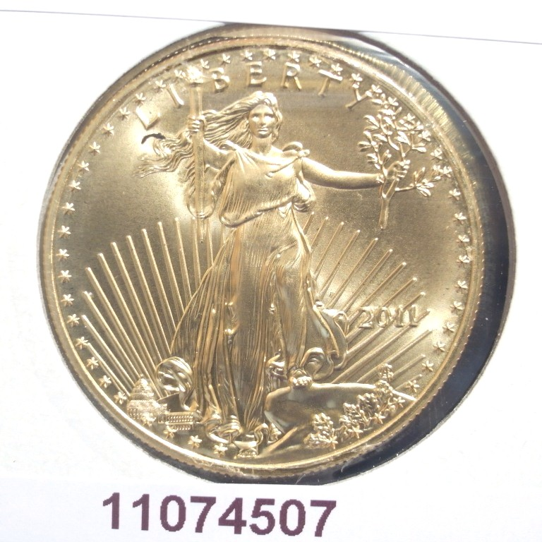 Réf. 11074507 Eagle 1 once 50 Dollars US - AVERS