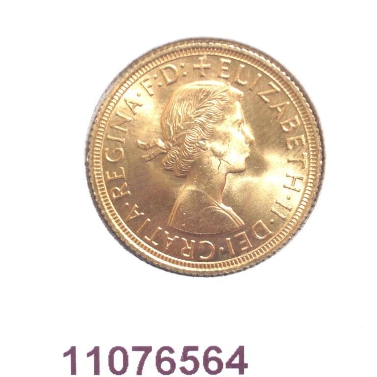 Réf. 11076564 Souverain Elisabeth II  Buste Lauré (1957-1968) - AVERS