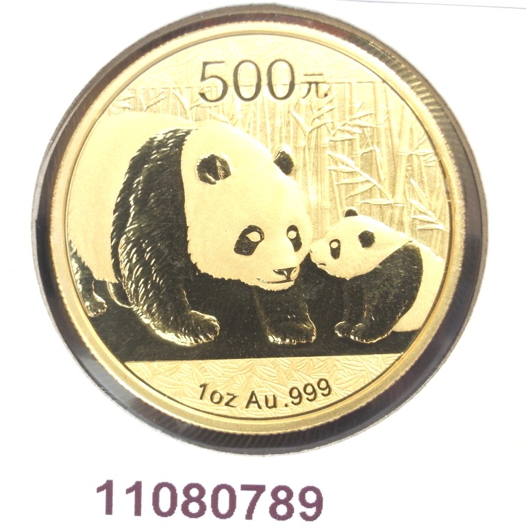 Réf. 11080789 Panda 1 once  2011 - AVERS