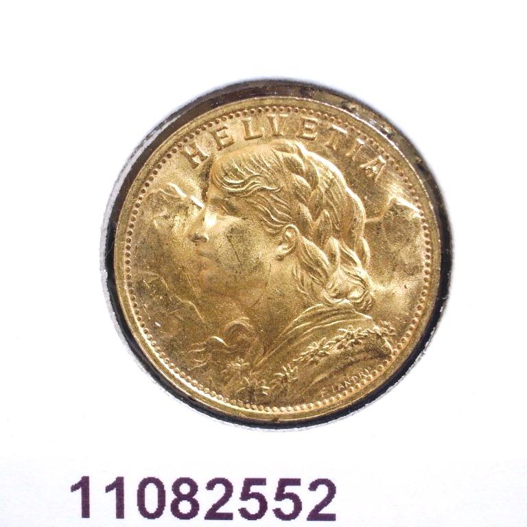 Réf. 11082552 20 Francs Suisse Vreneli (1935L, 1947 et 49)  - AVERS