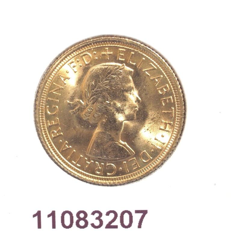 Réf. 11083207 Souverain Elisabeth II  Buste Lauré (1957-1968) - AVERS