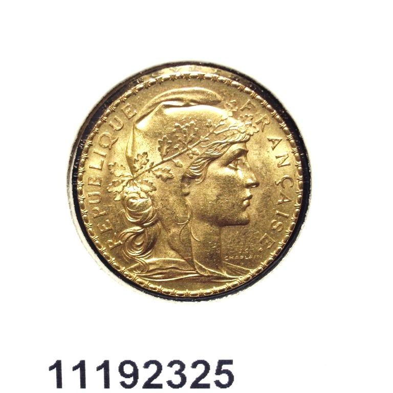 Réf. 11192325 Napoléon 20F  Marianne Coq - Liberté Egalité Fraternité - AVERS