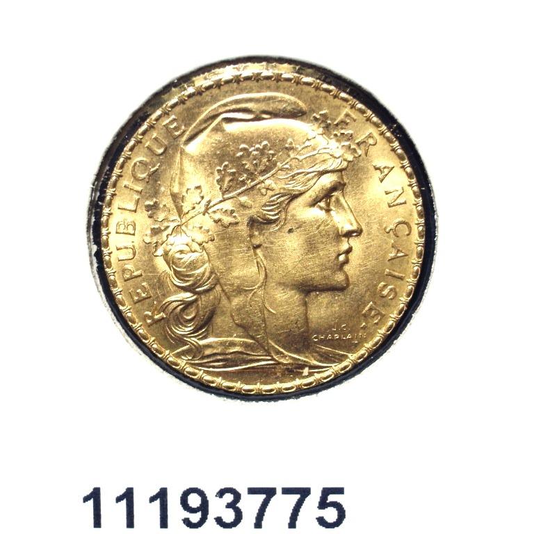 Réf. 11193775 Napoléon 20F  Marianne Coq - Liberté Egalité Fraternité - AVERS