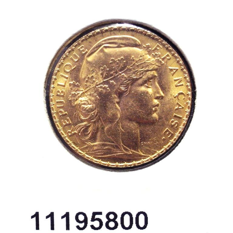 Réf. 11195800 Napoléon 20 Francs Marianne Coq - Liberté Egalité Fraternité - AVERS