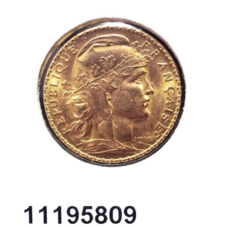 Réf. 11195809 Napoléon 20 Francs Marianne Coq - Liberté Egalité Fraternité - AVERS