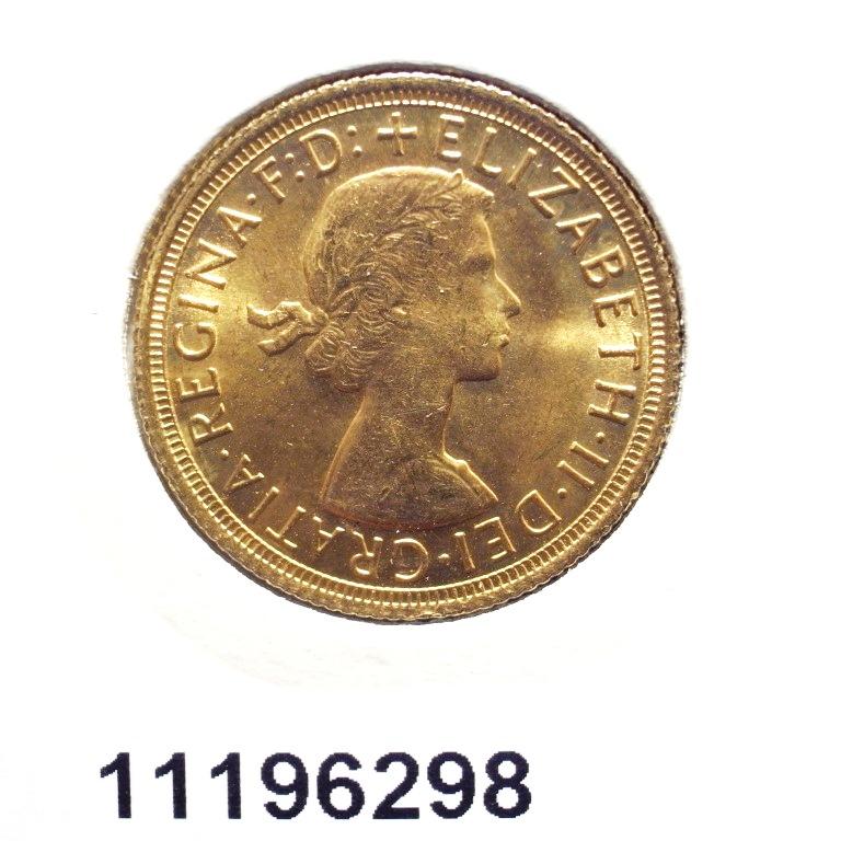 Réf. 11196298 Souverain Elisabeth II  Buste Lauré (1957-1968) - AVERS